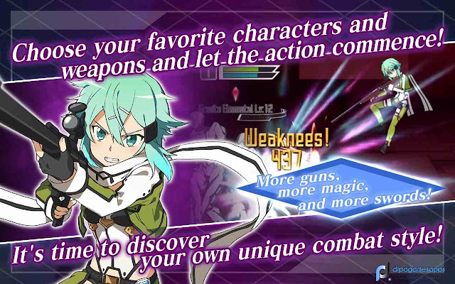 Sword Art Online: Memory Defrag MOD APK (Unlimited Skills)