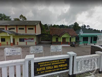 FOTO 1 : Desa Ponggang, Kecamatan Serang Panjang