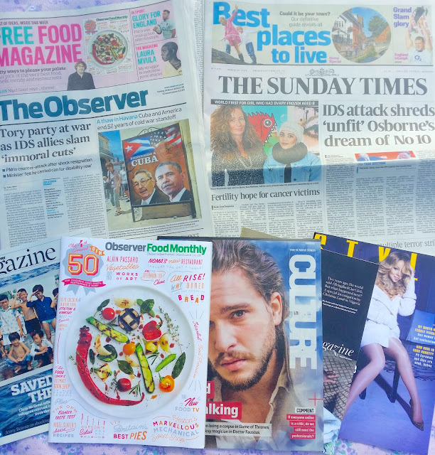 the observer & the sunday times