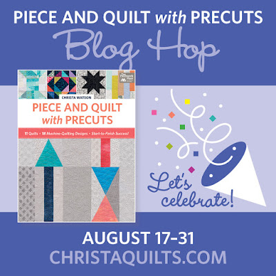 Piece and Quilt with Precuts Blog Hop with Christa Watson