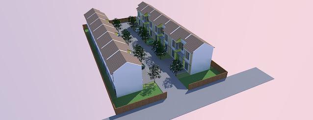 gambar ilustrasi perumahan