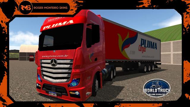 Actros Pluma Transportes - Pluma Transportes