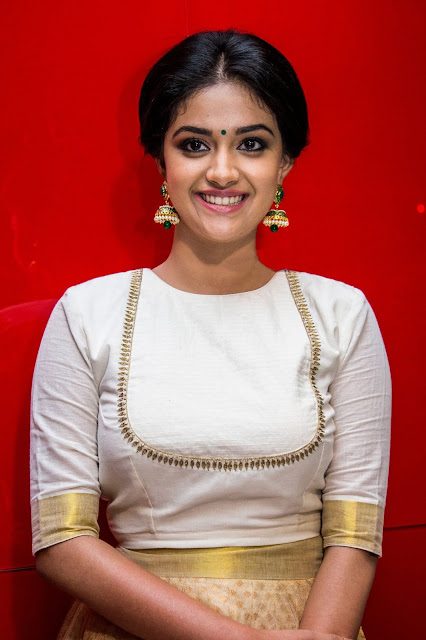 Keerthi Suresh Navel Photo, navel images, navel pics