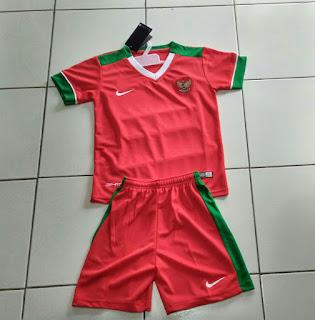 Jual Jersey Kids/ Anak Indonesia Home 2017 di toko jersey jogja sumacomp, murah berkualitas