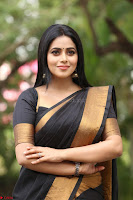 Poorna in Cute Backless Choli Saree Stunning Beauty at Avantika Movie platinum Disc Function ~  Exclusive 118.JPG