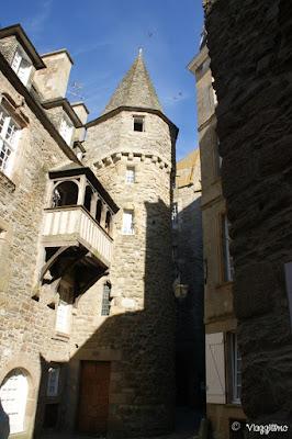 Edifici Medievali nella città intramuros di Saint Malo