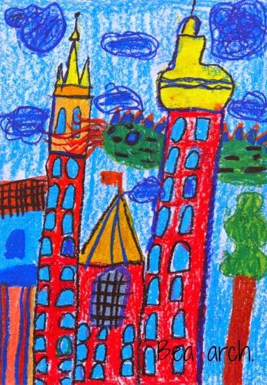 Jak namalować widokówkę z Krakowa