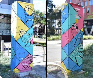 Haymarket Street Art | Utility Art