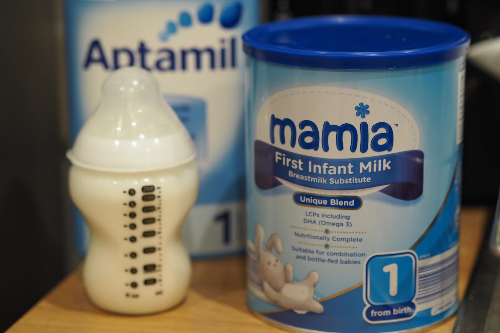 Not Your Average: Aldi Baby Milk Review (Aptamil comparison)