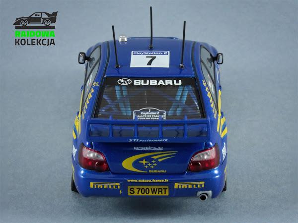AUTOart Subaru Impreza S9 WRC Winner Rallye Tour de Corse 2003