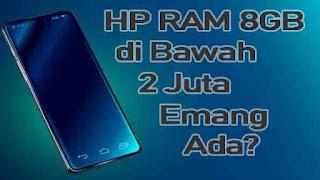 HP RAM 8 GB di Bawah 2 Juta
