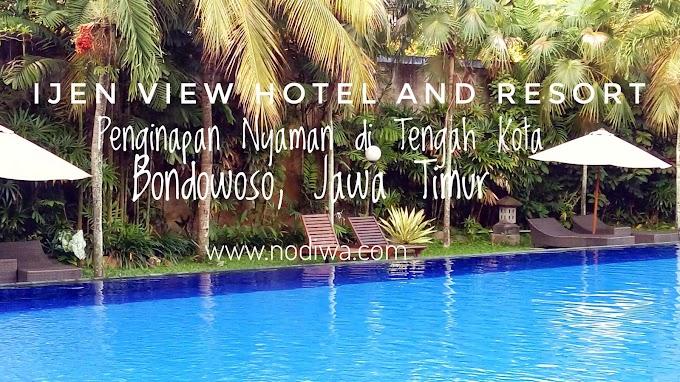 Ijen View Hotel and Resort Penginapan Nyaman di Tengah Kota Bondowoso, Jawa Timur