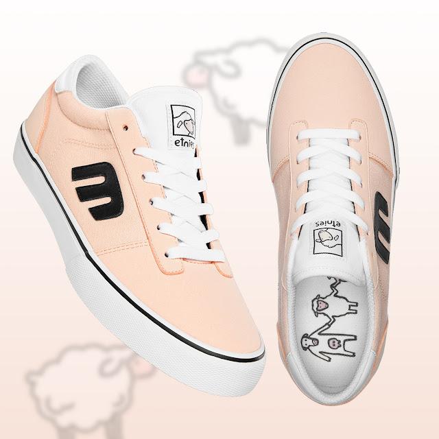 etnies Skateboard Shoes Calli Vulc Sheep