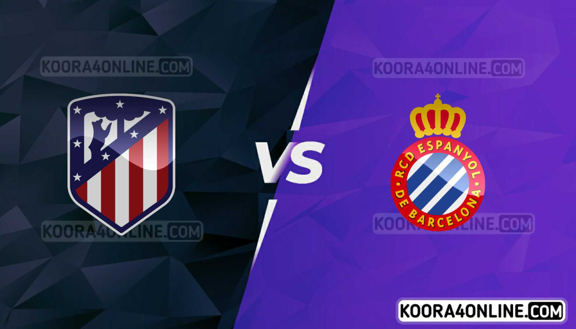 مشاهدة مباراة أتلتيكو مدريد وإسبانيول القادمة كورة اون لاين بث مباشر اليوم 12-09-2021 في الدوري الإسباني