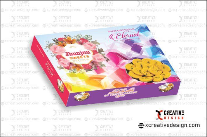 Latest Fancy Sweet Box Design CorelDraw - XCreativeDesign