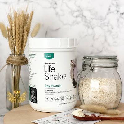 Resepi Life Shake Elderberry Shaklee