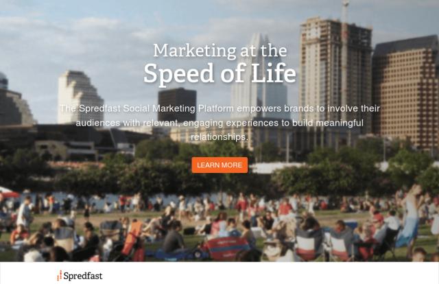 Spredfast - Marketing em redes sociais para empreendedores