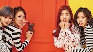 Twice k-pop mobile wallpaper