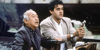Pat Morita Jay Leno Collision Course 1989 cop buddy movie
