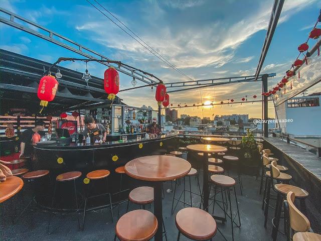 Skylover Rooftop - Cafe rooftop ngắm hoàng hôn Quận 10