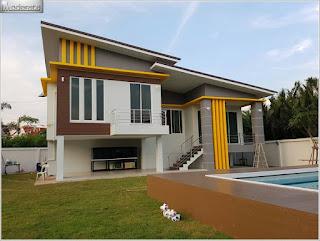 แบบบ้านชั้นครึ่งสวยๆ