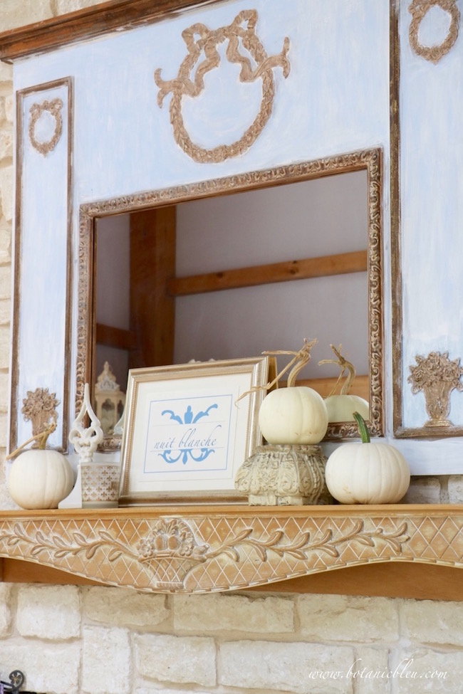 Welcome Fall decorating ideas for mantels with new and old traditions