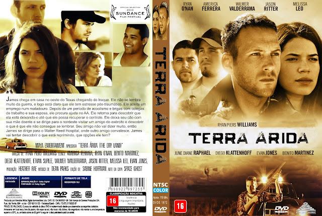 Capa DVD Terra Árida