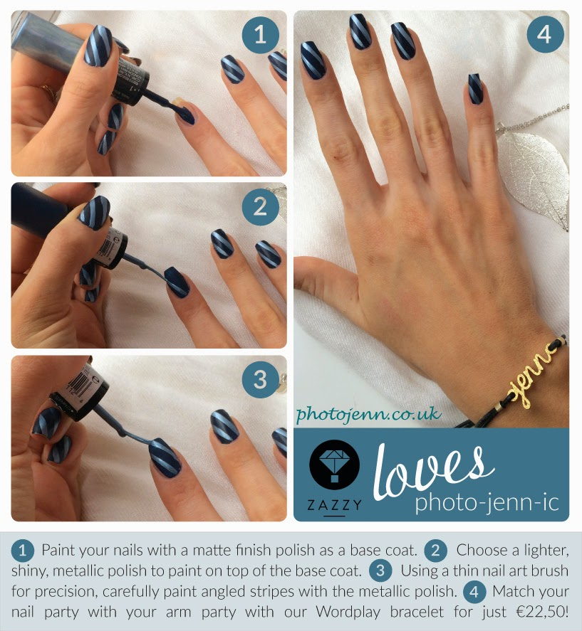 blue-Pinstripe-nail-art-tutorial