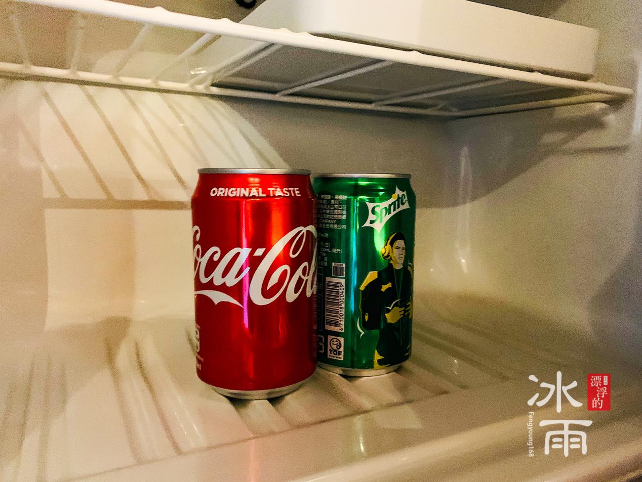 福華大飯店|冰箱內迎賓飲料