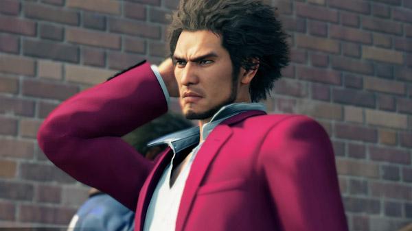 Yakuza 7 main video game character Kazuma Kiryu