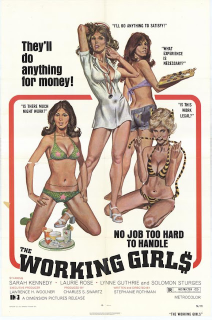 Exploitation Theater: The Working Girls (1974) AKA That Movie With Cassandra Peterson