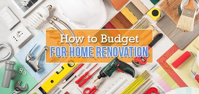 renovation project budget