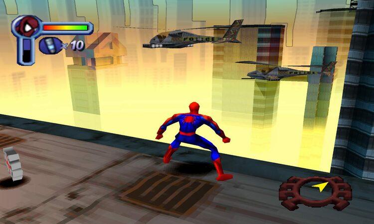 تحميل لعبة spider man