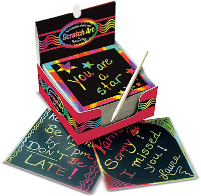 Melissa and Doug Scratch Art Notes