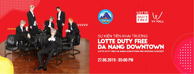 LOTTE Duty Free Da Nang Downtown Pre-Opening Concert 2019