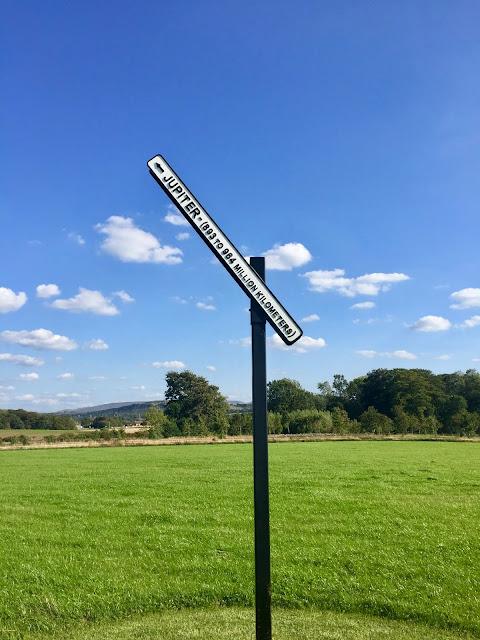 Signpost to Jupiter, Jupiter Artland, Edinburgh