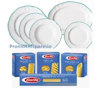 Logo Concorso Azzurro Barilla '' Insieme sotto il cielo d' Italia'' : vinci gratis 80 kit  (cena + set piatti e set tovagliette)