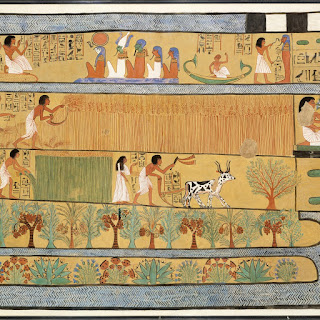 Sennedjem and Iineferti in the Fields of Iar, 1295–1213BC.