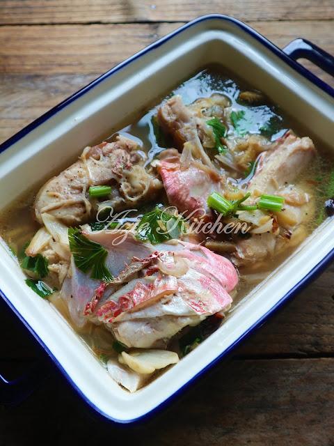 Sup Kepala Ikan Merah