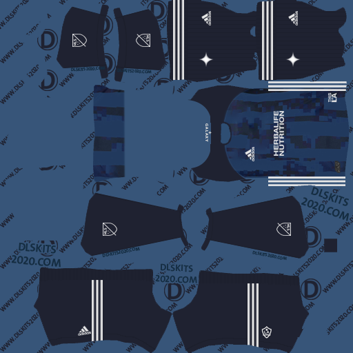 Los Angeles Galaxy kits 2019-2020 Away For Dream League Soccer 2020