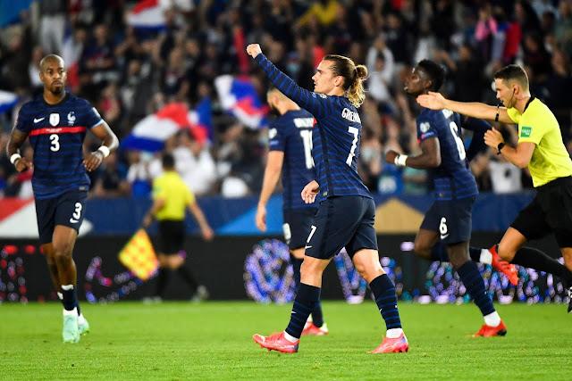 ملخص واهداف مباراة فرنسا والبوسنة والهرسك (1-1) تصفيات كاس العالم