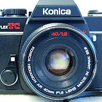 Konica Autoreflex TC,, Konica Hexanon AR 50mm F1.8