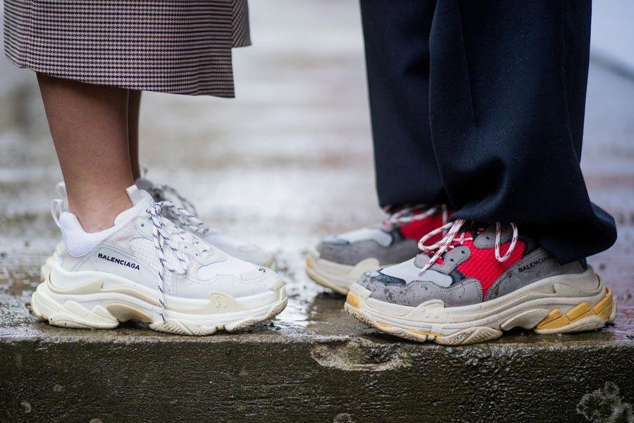 Tendência: Dad Sneakers