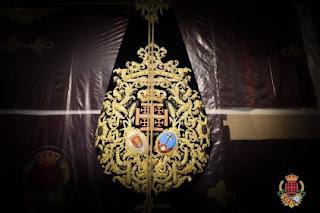 El nuevo estandarte corporativo para la Humildad de la Espiga de Sevilla Este