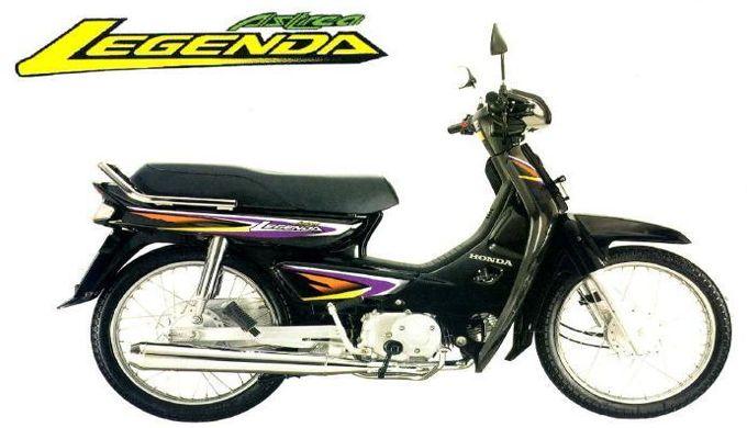 Intip, Harga Sepeda Motor Honda Legenda Tahun 2002 !