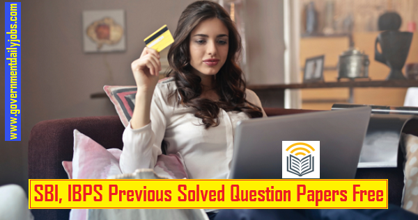 IBPS PO previous year question papers with answers