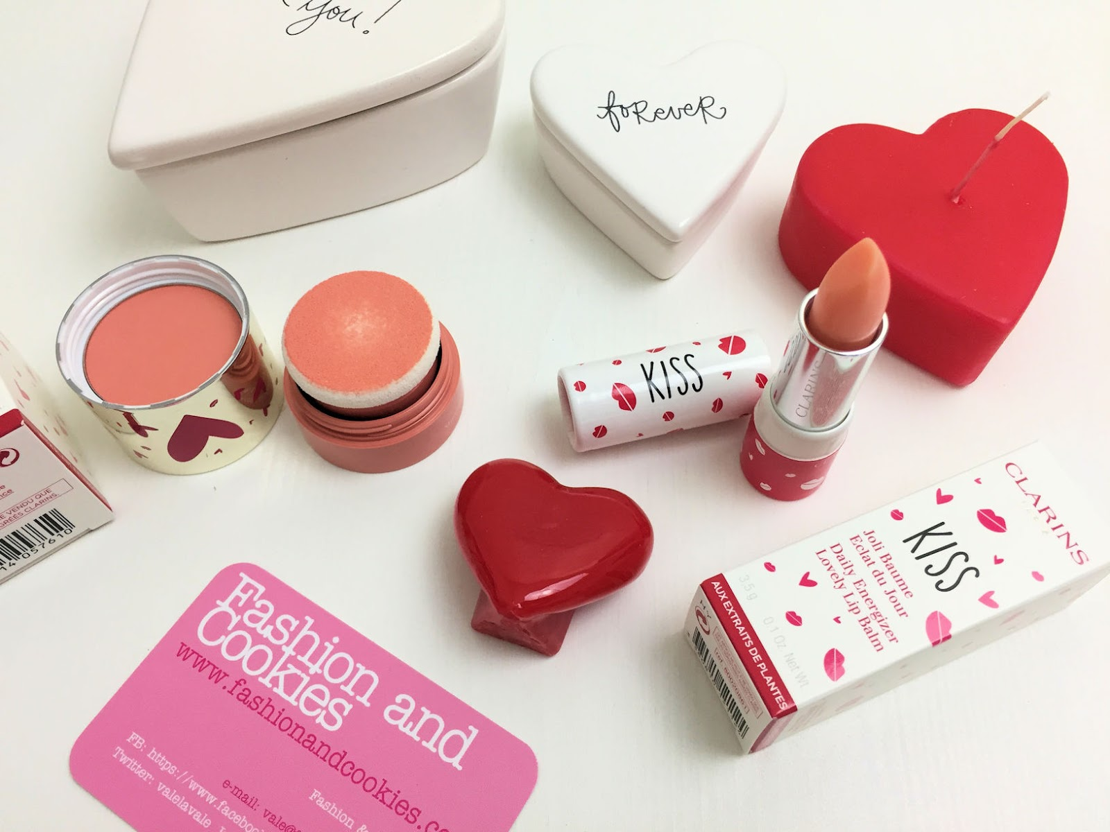 makeup di San Valentino con la capsule collection Clarins: Skin Illusion Blush e Joli Baume su Fashion and Cookies beauty blog, beauty blogger