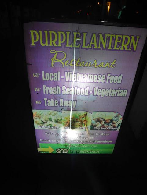 Follow Purple Lantern sign