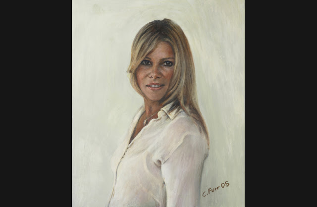 "British Portrait Artist ""Christian Furr"" 1966"
