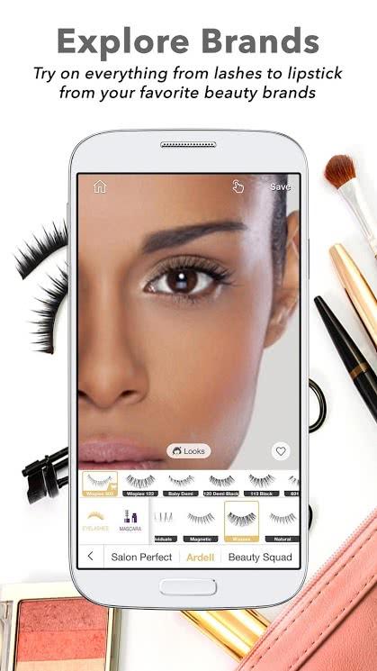 تطبيق Perfect365 للأندرويد لتجميل الصور - صورة لقطة شاشة (2)